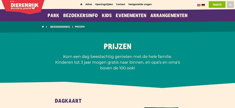 Dierenrijk Eindhoven korting