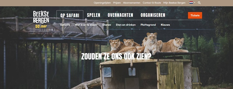 Dierentuin top 10 Safaripark Beekse Bergen