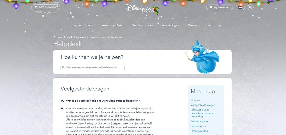 Disneyland Parijs drukte