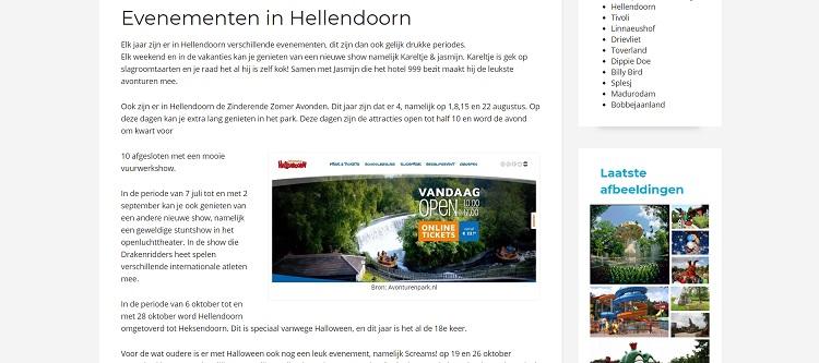 Drukke dagen in Hellendoorn