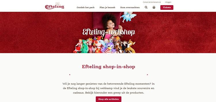 Efteling webshop
