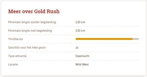 Gold Rush Slagharen