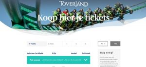 Toverland kaarten